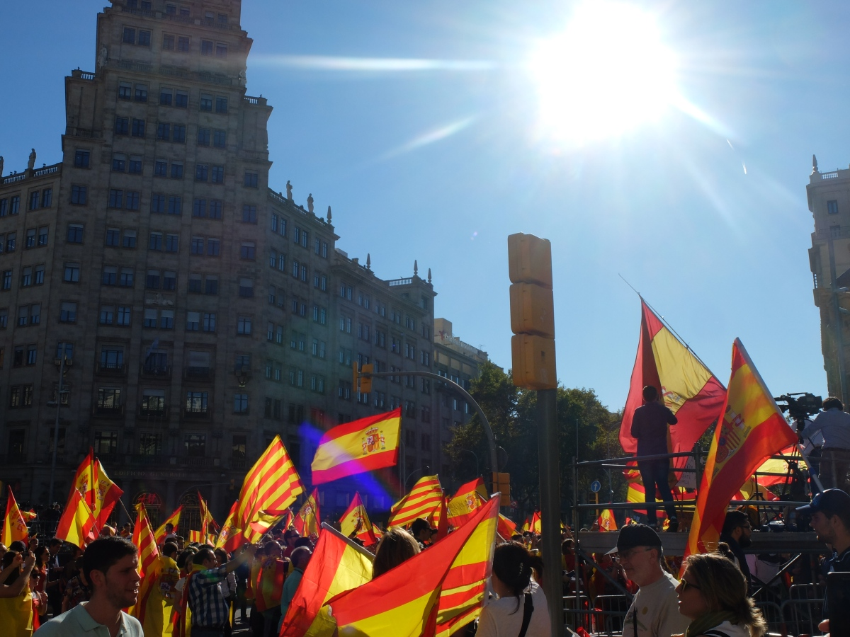 Politics & paella; A sunny Autumn weekend in beautiful Barcelona