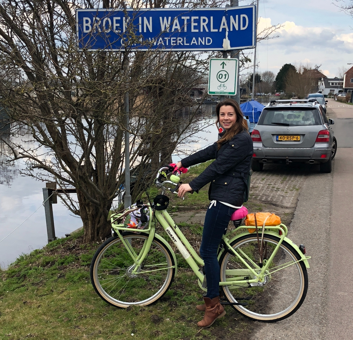 More bike adventures from Amsterdam; Easter inEdam